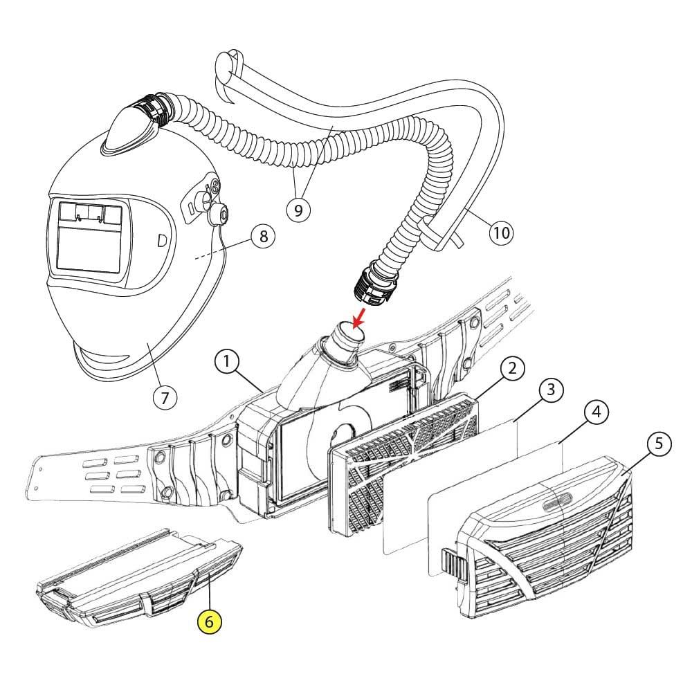 Standard # Batterie Optrel e3000 Akku